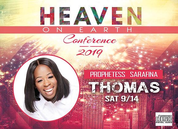 HOEC19 Prophetess Sarafina Thomas CD | Sat 9.14.19