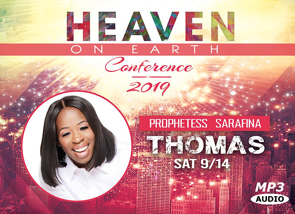 Prophetess Thomas MP3 | Sat 9.14.2019