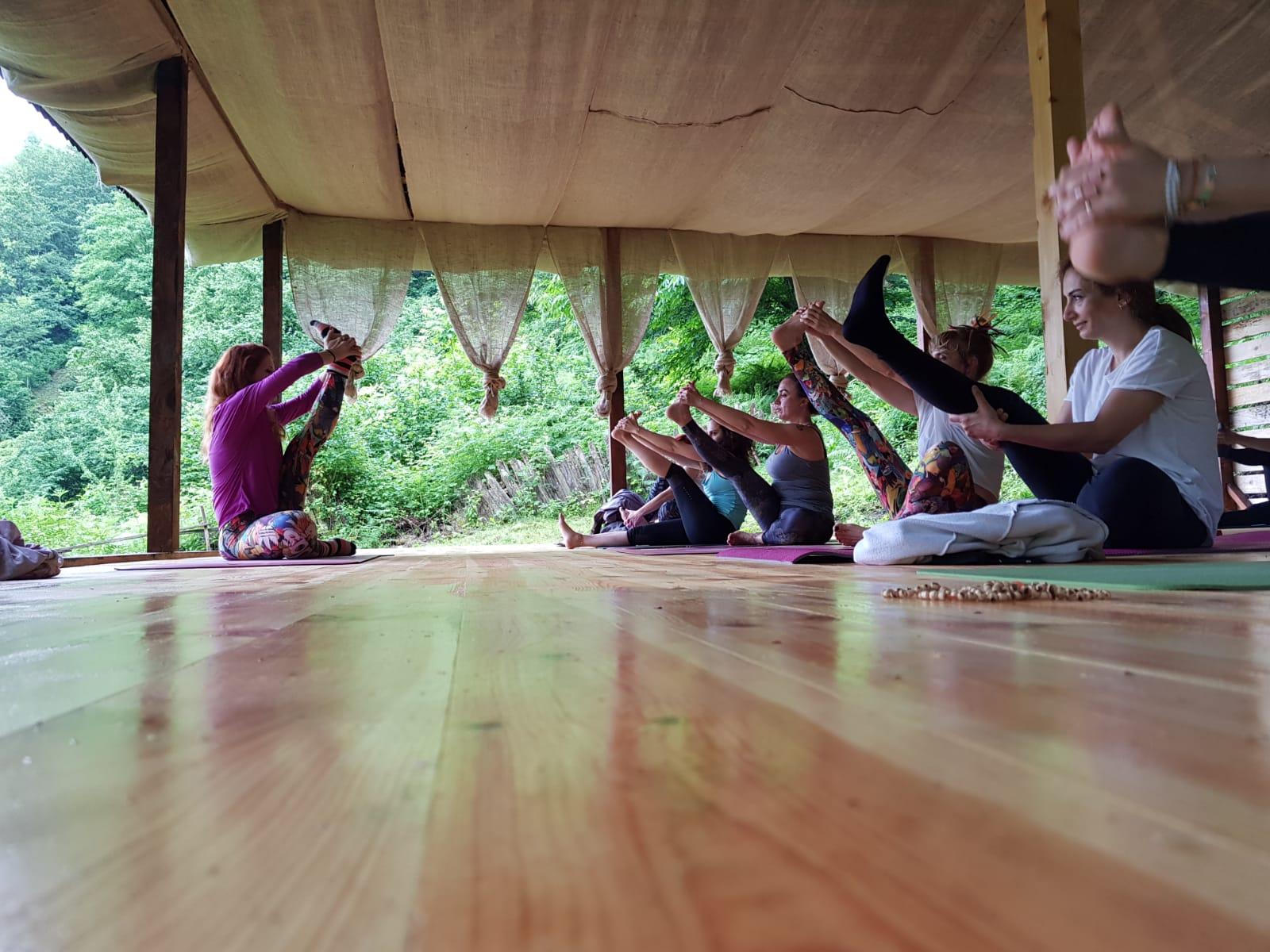 Yoga eğitimi