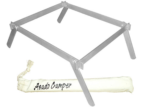Asado Camper instant bbq stand for instant barbecue