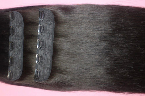 Lace weft - Clip in Hair Extensions