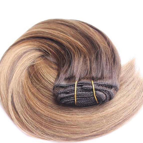 Highlighted Panel Clip in Hair Extensions