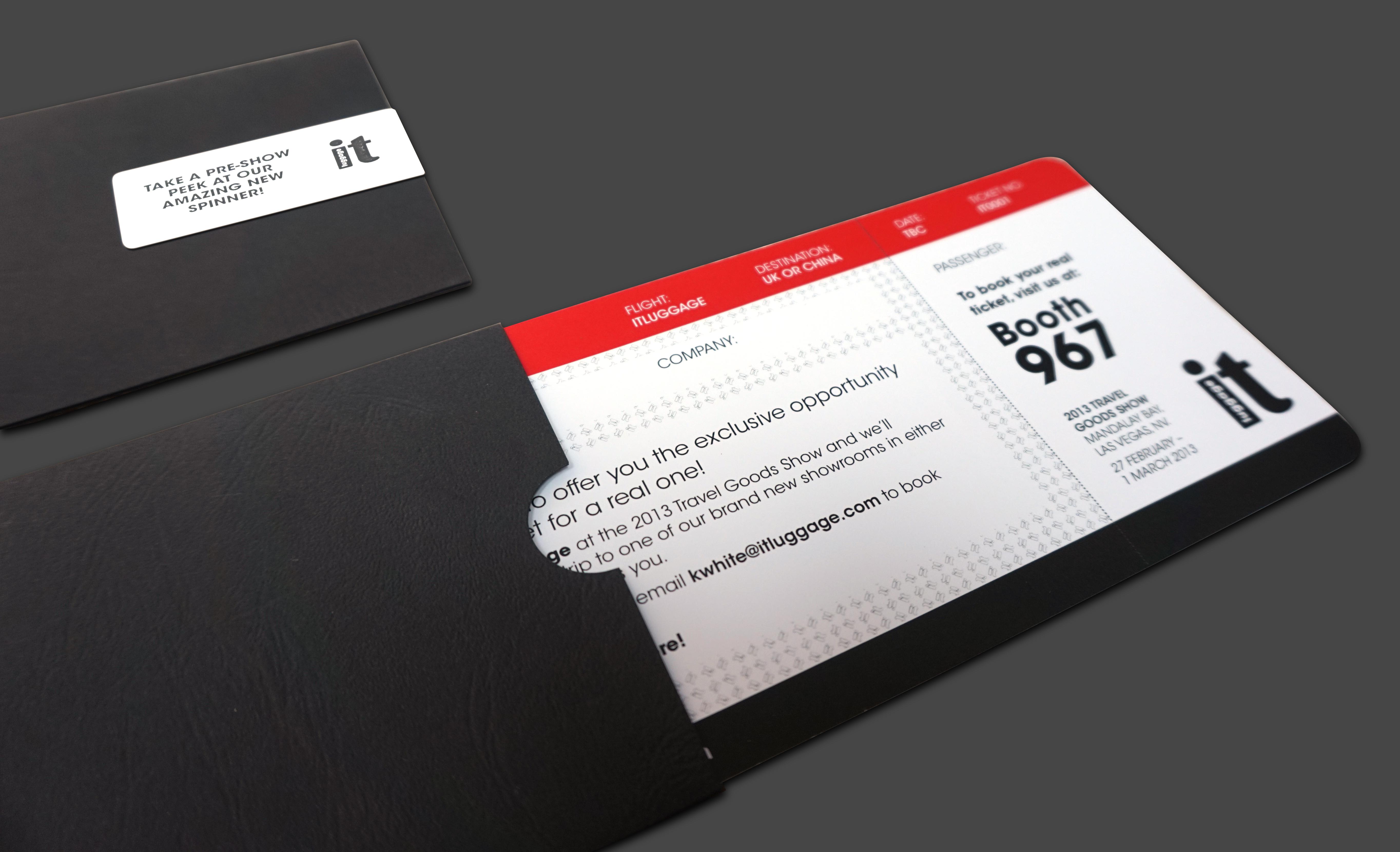 IT exhibition invite