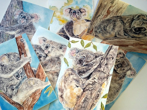 Koala - Greeting Card Set