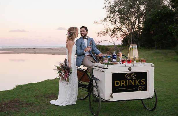 Tricyle Drinks Cart
