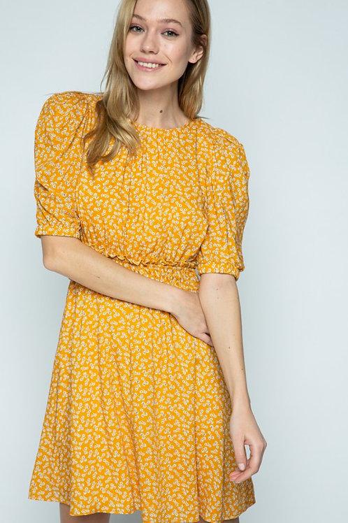 Poppy Puff Sleeve Dress