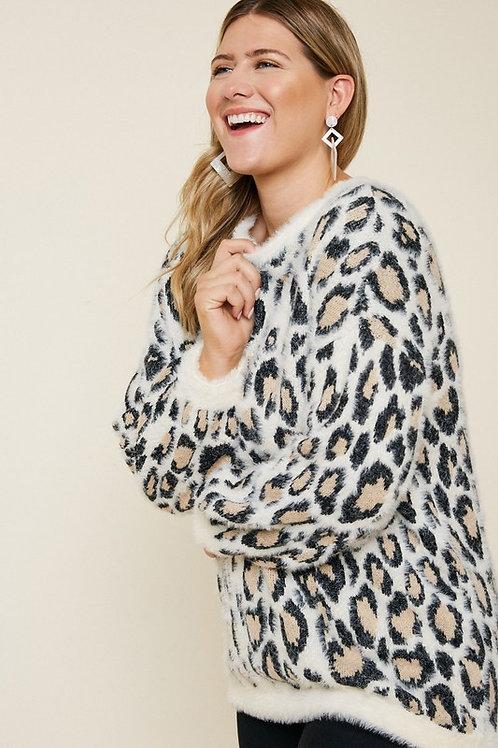 Oona Leopard Sweater