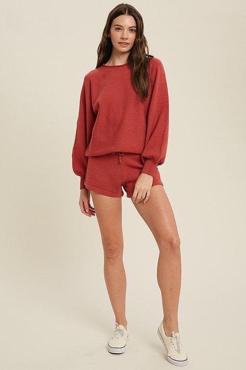 Jo Ribbed Sweater Lounge Set