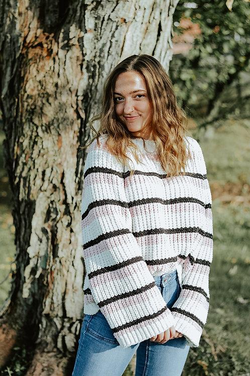 Olivia Oversized Striped Sweater