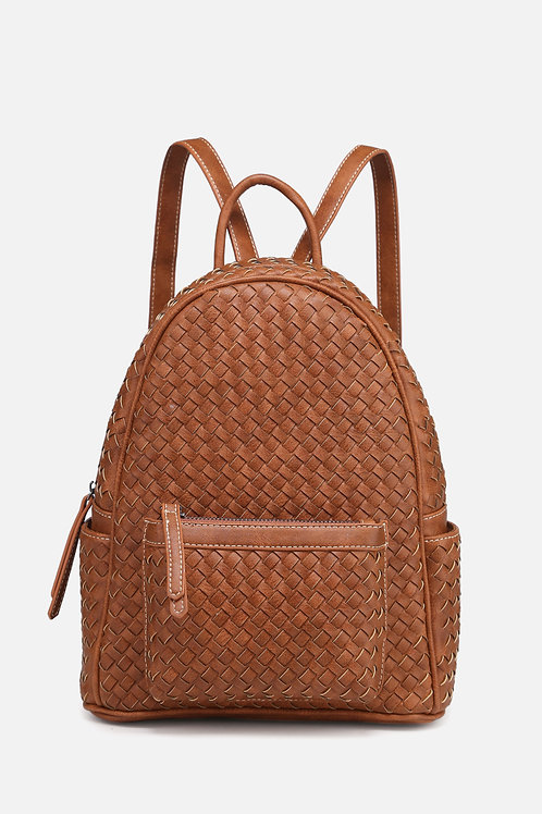Forest Woven Backpack
