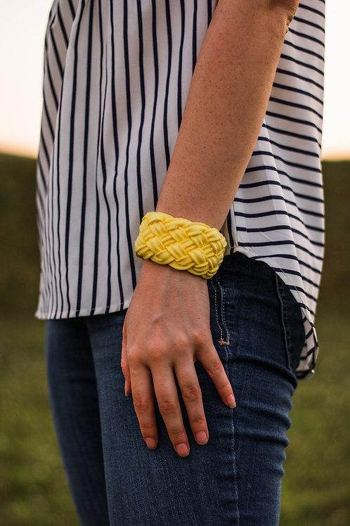 Soft Touch Braided Cloth Bracelet