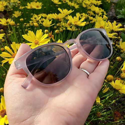 Light Hearted Grey Sunglasses