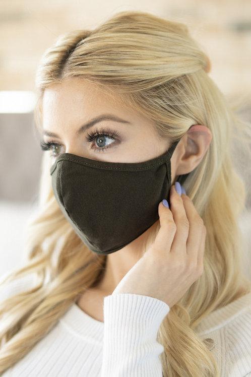 Olive Cloth Mask