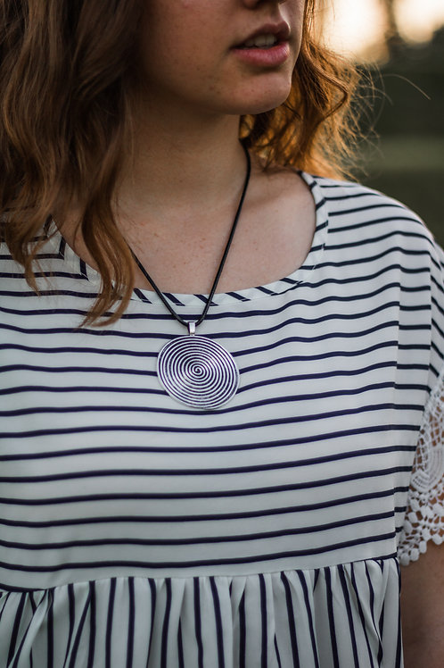 Swirl to My Heart Necklace