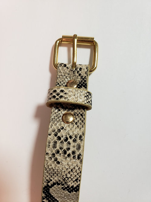 Perfectly In Style Belt (Snake Print)