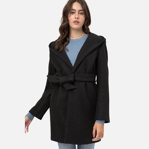 Taiga Belted Fleece Coat