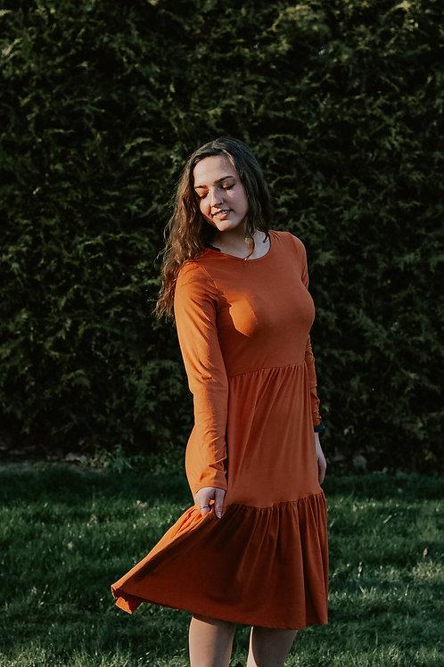 Melanie Layered Swing Dress