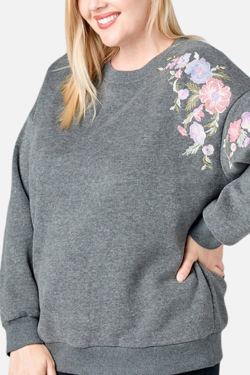 Marigold Embroidered Sweater