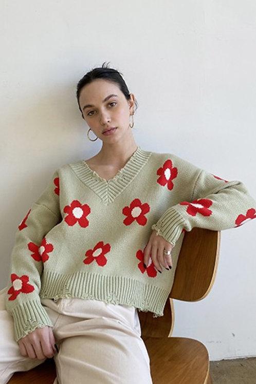 Bobbie Distressed Sweater