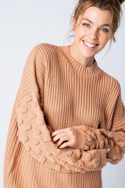 Zora Bubble Sleeve Sweater