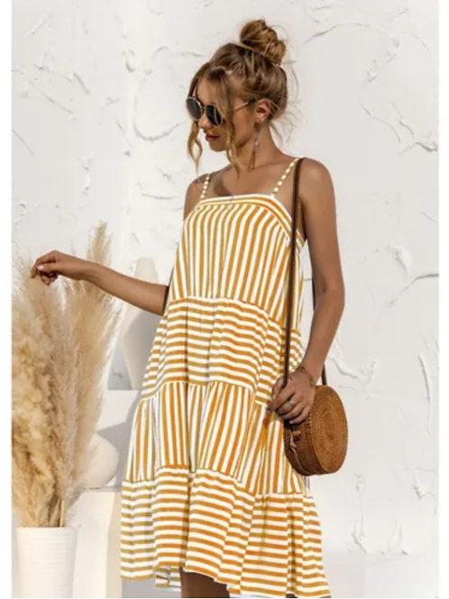 Imogen Striped Cami Dress