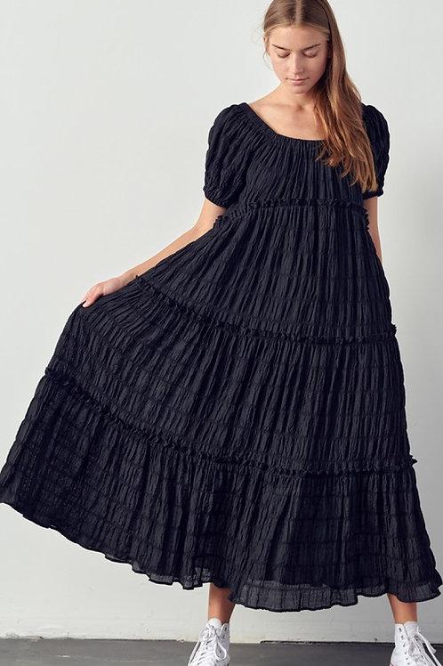 Everly Ruffled Maxi Dress