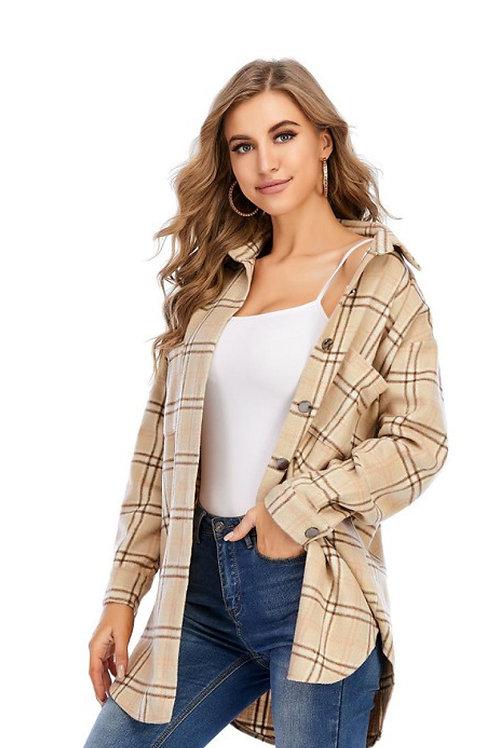 Prairie Flannel Shacket