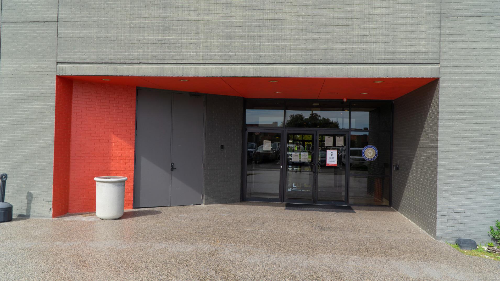 1300 Ricchi Tower - Back Entrance (After)