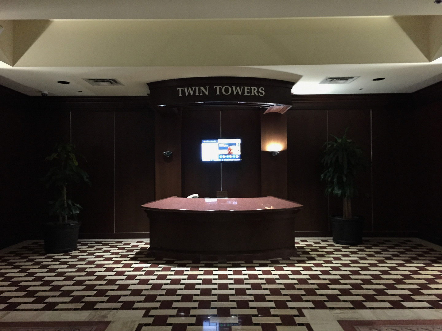 Ricchi Towers - Lobby (Before)