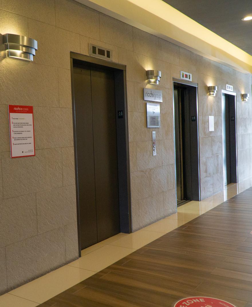 1300 Ricchi Tower - Elevators (After)