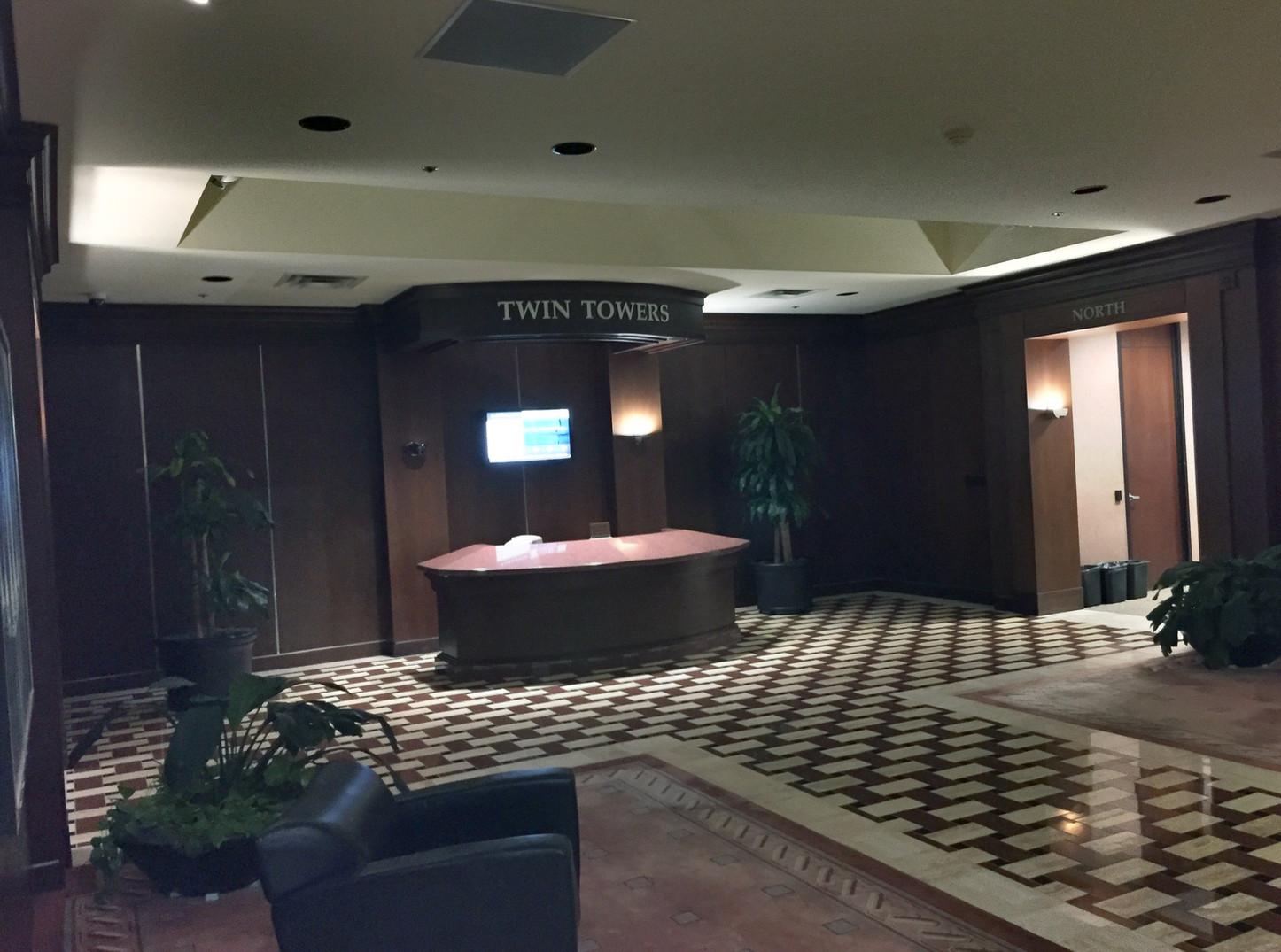 Ricchi Towers - Lobby (Before)