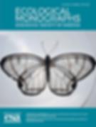 Ecological Monographs bflyflora cover.pn