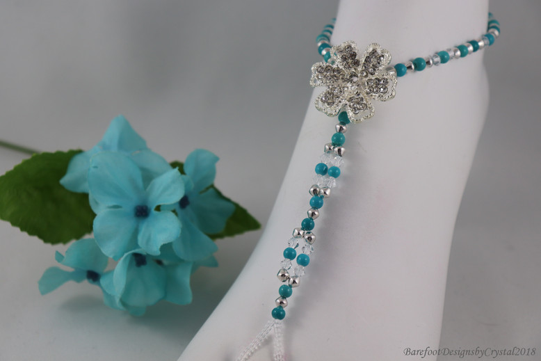 Love Turquoise Flower Request.