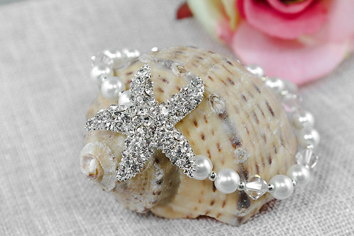 Jewel Starfish Wholesale Bracelet