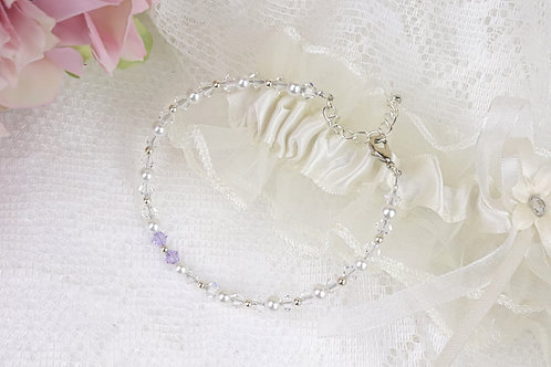 Lillie - Elegant Swarovski Crystal Bracelet