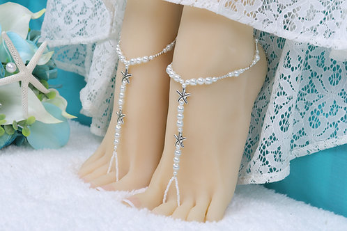 Nova - Double Starfish Barefoot Sandal