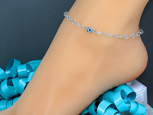 Turquoise Evil Eye Wholesale Anklet