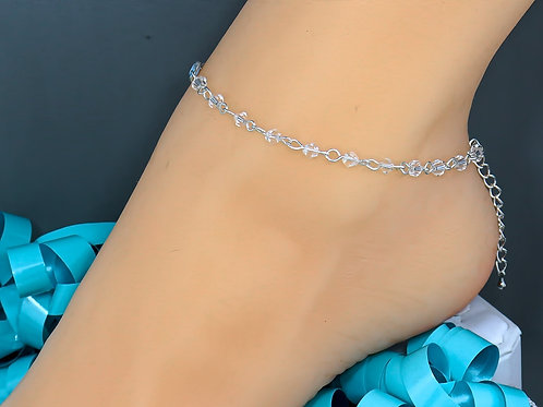 Crystal Wholesale Bead Anklet