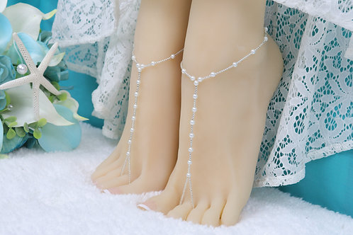 Summer - Youth Silver Pearl Sandal