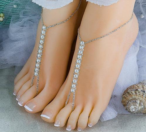 Basic Pearl Wholesale Barefoot Sandal