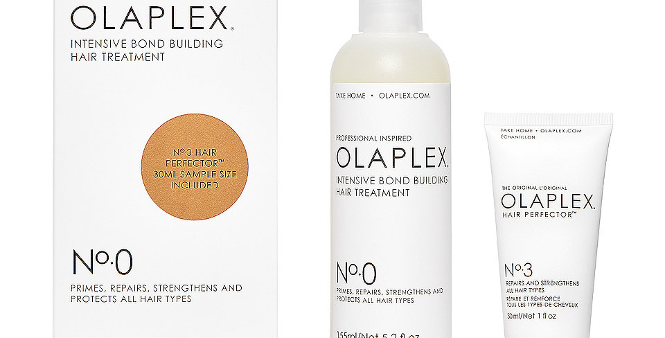 OLAPLEX PASOS 0 INTENSIVE BOND BUILDING HAIR TREATMENT + PASO 3 REGALO