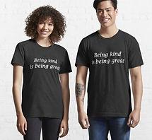 Being kind black t-shirt.jpeg