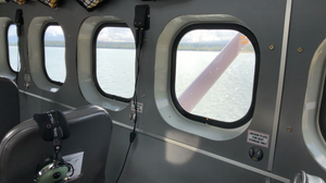 Each seat has a window aboard the DHC-3 Otter.