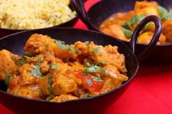 curry de poulet : 7.50€ /part