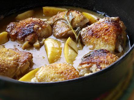 poulet au cidre : 7.50€/part