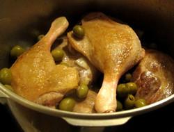 canard aux olives : 8.50€/part