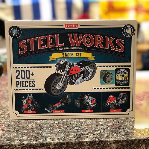 Steel Works- 5 Model Set