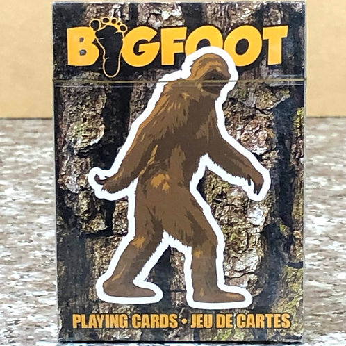 Big Foot Playing Cards