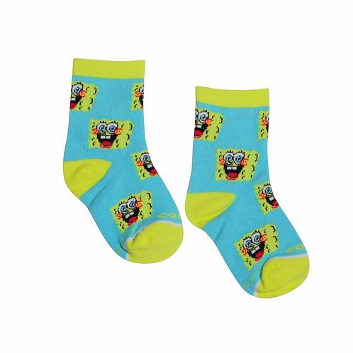 Nickelodeon's Spongbob Kids Socks - Ages 4-7