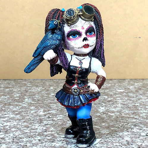 Day of the Dead Steampunk Kid